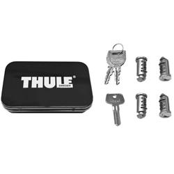 Thule 4-Pack Lock Cylinders-Silver