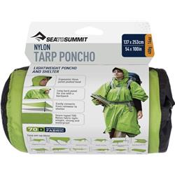 Sea To Summit Nylon Tarp / Poncho-Apple Green