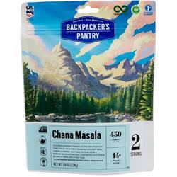 Backpackers Pantry Chana Masala - 2 Serving (Gluten & Wheat Free)-Not Applicable