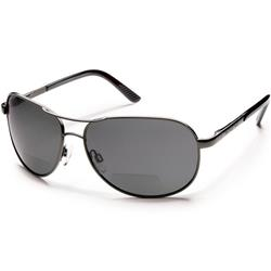 Suncloud Aviator, Gunmetal Frame, Polarized Gray Lens-Not Applicable