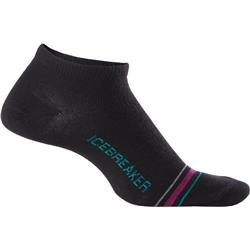 Icebreaker LifeStyle Low Cut Socks - Ultralight Cushion - Womens-Black
