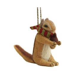 GSI Outdoors Outside / Inside Ornament - Felted Chipmunk-Not Applicable