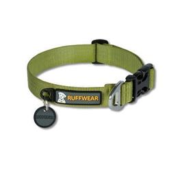 Ruffwear Hoopie Collar (Solid / Pattern)-Forest Green