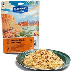 Backpackers Pantry Fettuccini Alfredo with Chicken - 2 Serving-Not Applicable
