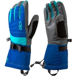 Outdoor Research Revolution Gloves - Womens-Baltic / Typhoon