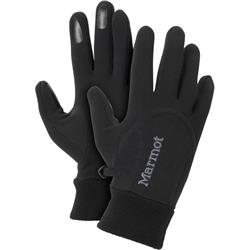 Marmot Power Stretch Glove - Womens-Black