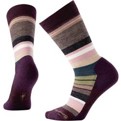 Smartwool Saturnsphere Socks - Womens-Bordeaux Heather