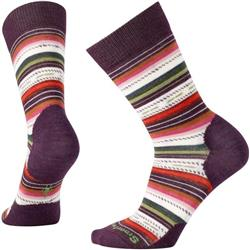 Smartwool Margarita Socks - Womens-Bordeaux Heather
