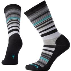 Smartwool Jovian Stripe Socks - Womens-Black