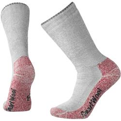 Smartwool Mountaineering Extra Heavy Crew Socks - Mens-Charcoal Heather