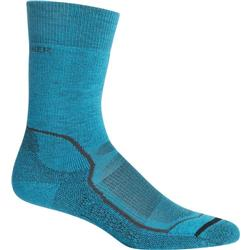 Icebreaker Hike+ Crew Socks - Medium Cushion - Womens-Arctic Teal
