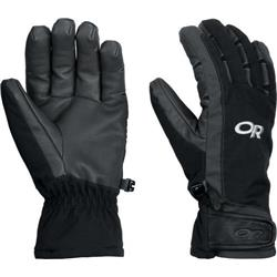 Outdoor Research Extravert Gloves - Womens-Black / Charcoal