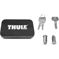 Thule 2-Pack Lock Cylinders-Silver