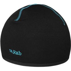 Rab Power Stretch Beanie-Black / Blue Logo