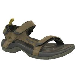 Teva Tanza Leather - Mens-Brown