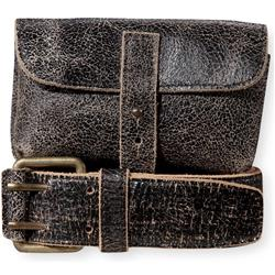 Pistil Pocket Belt - Womens-Black