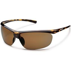 Suncloud Zephyr, Tortoise Frame, Polarized Brown Lens-Not Applicable
