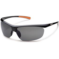 Suncloud Zephyr, Black Frame, Polarized Gray Lens-Not Applicable