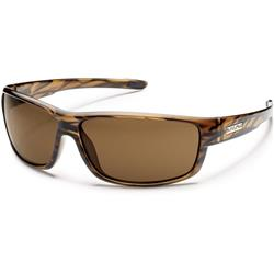 Suncloud Voucher, Brown Stripe Frame, Polarized Brown Lens-Not Applicable
