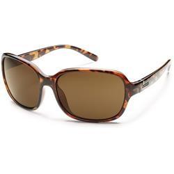 Sequin, Tortoise Frame, Brown Polarized Polycarbonate Lens