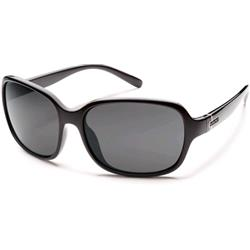 Suncloud Sequin, Black Frame, Gray Polarized Polycarbonate Lens-Not Applicable