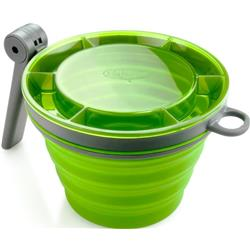 GSI Outdoors Collapsible Fairshare Mug - Green-Not Applicable