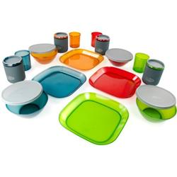 GSI Outdoors Infinity 4 Person Deluxe Tableset, Multicolor-Not Applicable