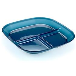 GSI Outdoors Infinity Divided Plate - Blue-Not Applicable