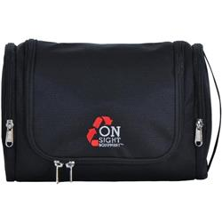 OnSight Equipment Travel Center Toiletries Bag-Black