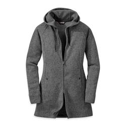 Outdoor Research Longitude Hoody - Womens-Charcoal