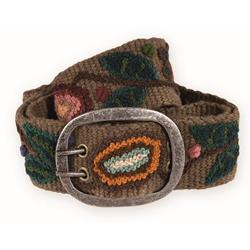 Pistil Blossom Belt - Womens-Brown