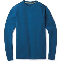 Smartwool Merino 250 Baselayer Crew - Mens-Bright Cobalt Heather