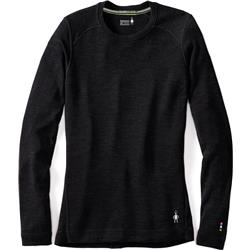 Smartwool Merino 250 Baselayer Crew - Womens-Black