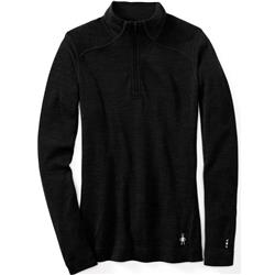 Smartwool Merino 250 Baselayer 1/4 Zip - Womens-Black