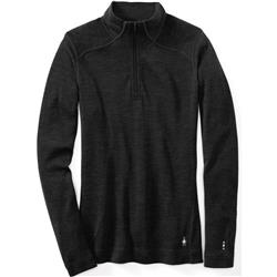 Smartwool Merino 250 Baselayer 1/4 Zip - Womens-Charcoal Heather