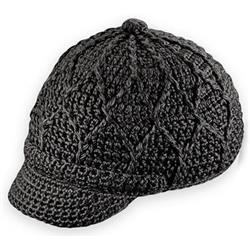 Pistil Jax Hat Knit Brim - Womens-Black