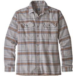 Patagonia Fjord Flannel LS Shirt - Mens-Activist / Feather Grey