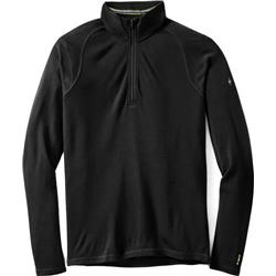 Smartwool Merino 250 Baselayer 1/4 Zip - Mens-Black