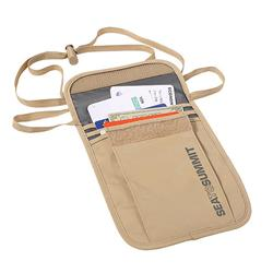 Sea To Summit Travelling Light Neck Wallet - Sand-Sand