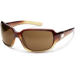 Suncloud Cookie, Brown Fade Laser Frame, Polarized Brown Lens-Not Applicable