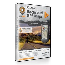 Backroad Mapbooks BC/AB Combo GPS Maps (SD)-Not Applicable