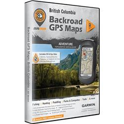 Backroad Mapbooks British Columbia GPS Maps (SD)-Not Applicable