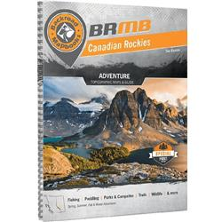 Backroad Mapbooks Canadian Rockies - Spiral - 3rd Edition-Not Applicable