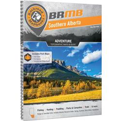 Backroad Mapbooks Southern Alberta Spiral 4thEdition-Not Applicable