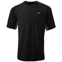 Outdoor Research Echo Duo Tee - Mens-Black / Pewter