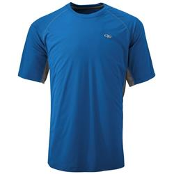Outdoor Research Echo Duo Tee - Mens-Cobalt / Pewter