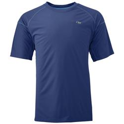 Outdoor Research Echo Tee - Mens-Baltic / Glacier