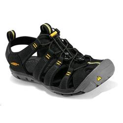 Keen Clearwater CNX - Black / Yellow - Womens-Black / Yellow