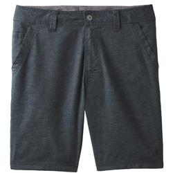"Prana Furrow Shorts, 11"" Inseam - Mens-Black"