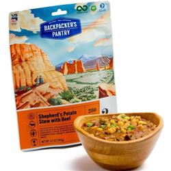Backpackers Pantry Shepherd`s Potato Stew with Beef - 2 Serving (Gluten & Wheat Free)-Not Applicable